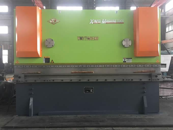 WC67Y-250T4000液压折弯(可调工作台)机
